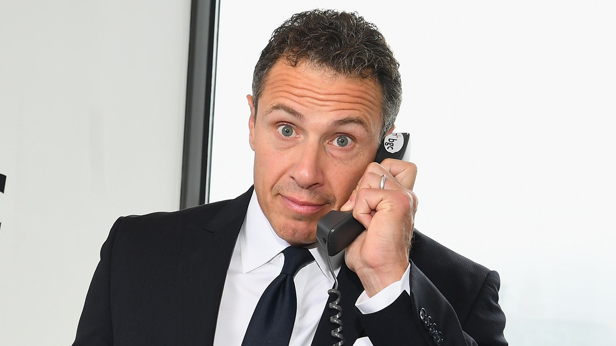 Chris Cuomo Caught Naked In Background Of His Wifes